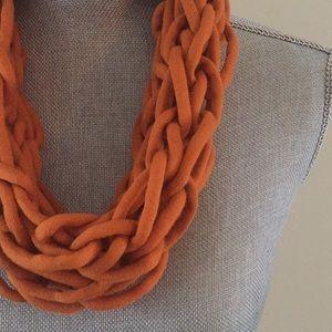 Amber handmade arm knit infinity scarf